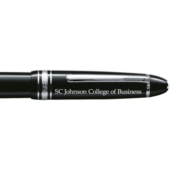 SC Johnson College Montblanc Meisterstück LeGrand Rollerball Pen in Platinum - Image 2
