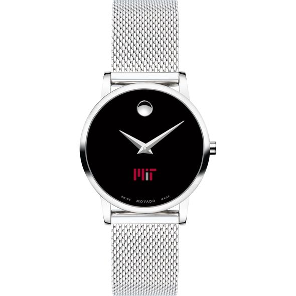 MIT Women's Movado Museum with Mesh Bracelet - Image 2