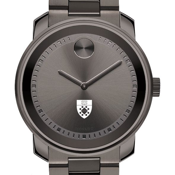 Yale SOM Men's Movado BOLD Gunmetal Grey - Image 1