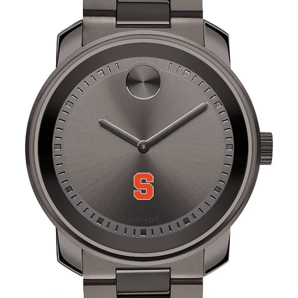 Syracuse University Men's Movado BOLD Gunmetal Grey