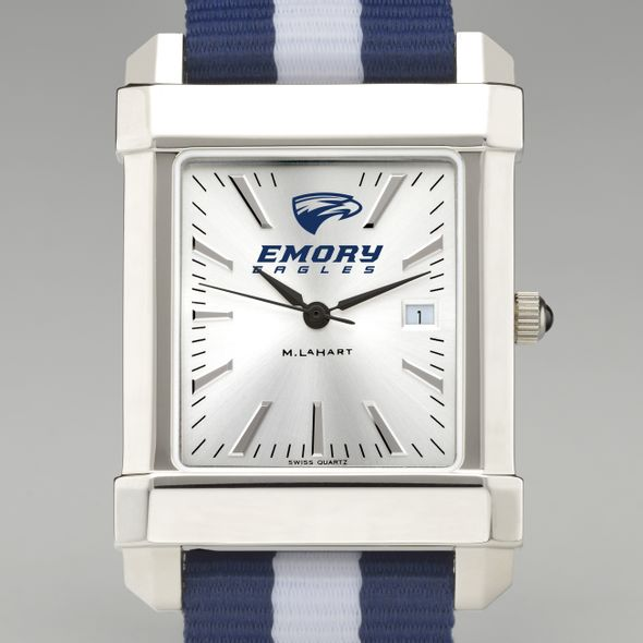 Emory University Collegiate Watch with NATO Strap for Men