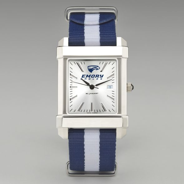 Emory University Collegiate Watch with NATO Strap for Men - Image 2