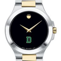 Dartmouth Men's Movado Collection Two-Tone Watch with Black Dial