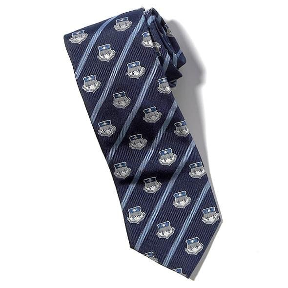 Air Force Academy Tie - Blue - Image 2
