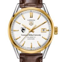 Carnegie Mellon University Men's TAG Heuer Two-Tone Carrera with Strap