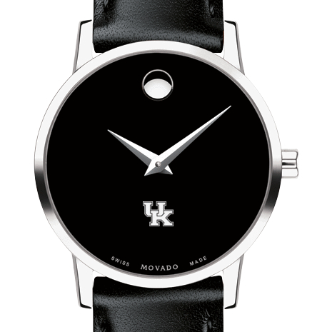 Kentucky Women's Movado Museum with Leather Strap
