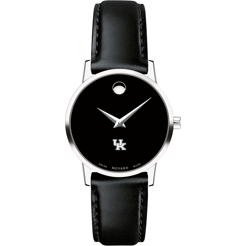 Kentucky Women's Movado Museum with Leather Strap - Image 2