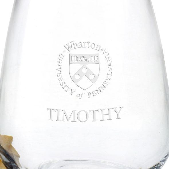 Wharton Stemless Wine Glasses - Set of 2 - Image 3