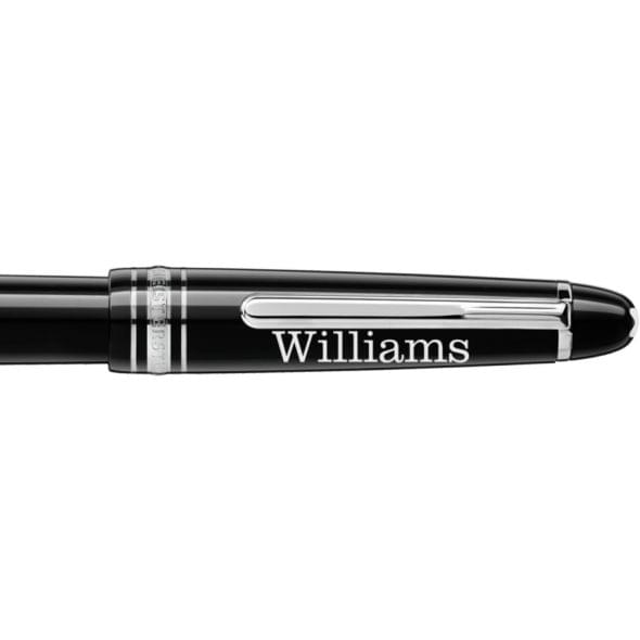 Williams College Montblanc Meisterstück Classique Fountain Pen in Platinum - Image 2