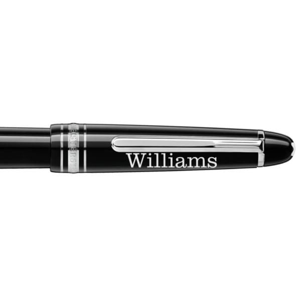 Williams College Montblanc Meisterstück Classique Fountain Pen in Platinum - Image 2
