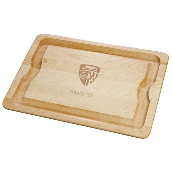 Johns Hopkins Maple Cutting Board