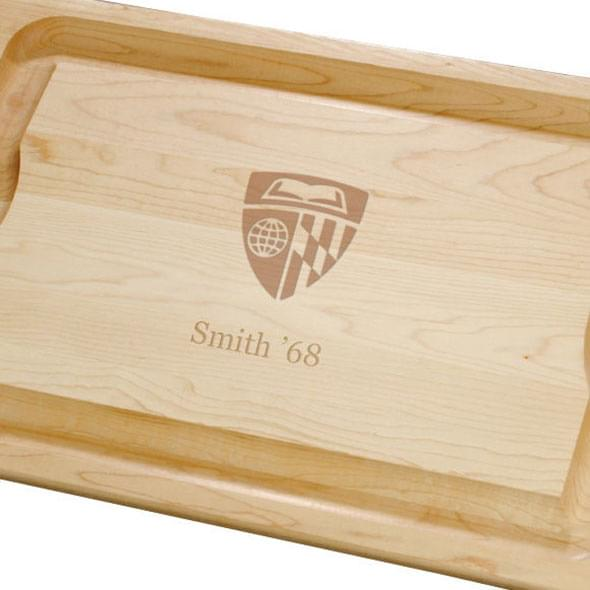 Johns Hopkins Maple Cutting Board - Image 2
