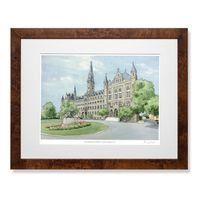 Georgetown Campus Print- Limited Edition, Large
