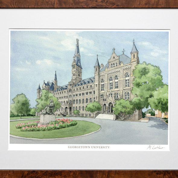 Georgetown Campus Print- Limited Edition, Large - Image 2