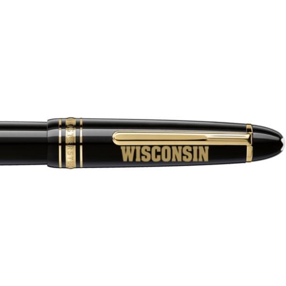 Wisconsin Montblanc Meisterstück LeGrand Rollerball Pen in Gold - Image 2