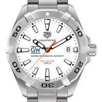 George Washington University Men's TAG Heuer Steel Aquaracer
