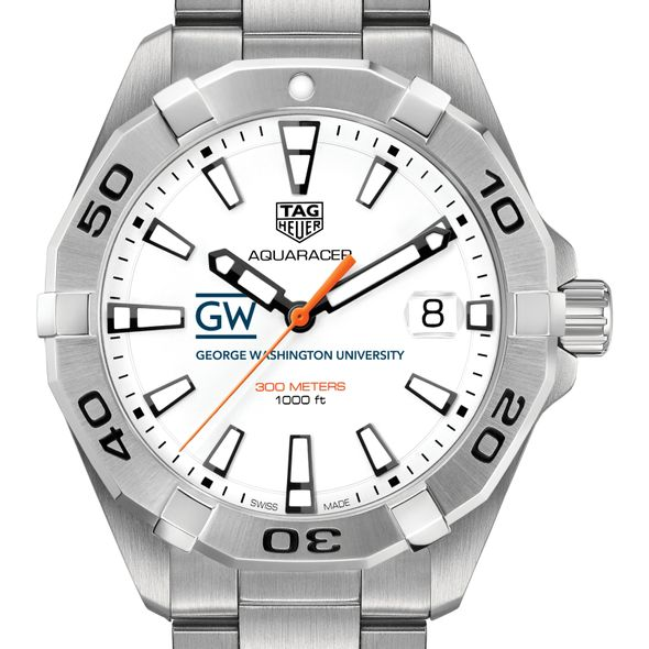 George Washington Men's TAG Heuer Steel Aquaracer