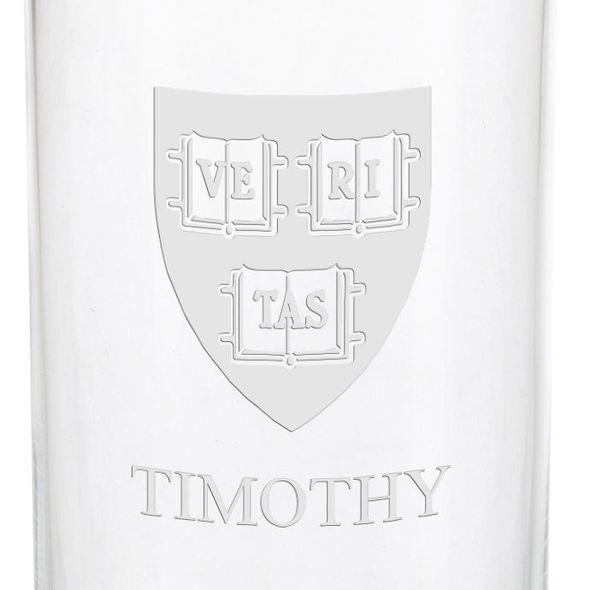 Harvard University Iced Beverage Glasses - Set of 4 - Image 3