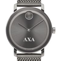 Lambda Chi Alpha Men's Movado BOLD Gunmetal Grey with Mesh Bracelet