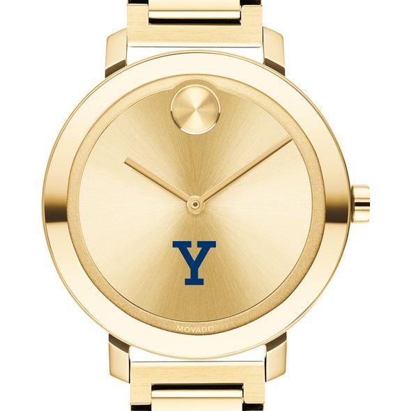 Yale University Women's Movado Gold Bold 34 - Image 1