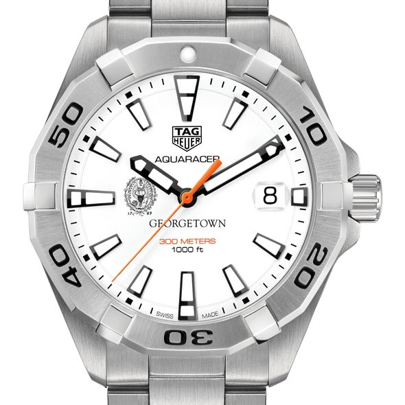 Georgetown University Men's TAG Heuer Steel Aquaracer