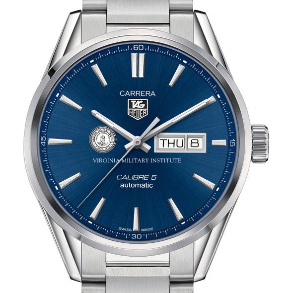 Virginia Military Institute Men's TAG Heuer Carrera with Day-Date