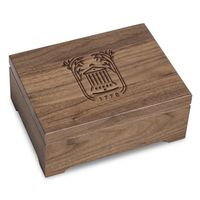 College of Charleston Solid Walnut Desk Box