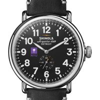 NYU Shinola Watch, The Runwell 47mm Black Dial