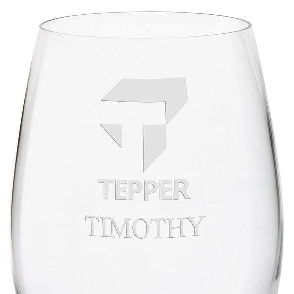 Tepper Red Wine Glasses - Set of 4 - Image 3