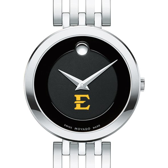 East Tennessee State University Women's Movado Esparanza Stainless Steel Museum with Bracelet