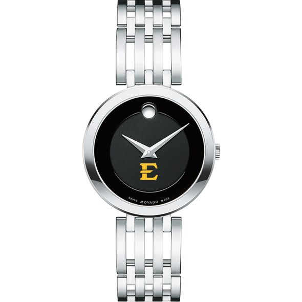 East Tennessee State University Women's Movado Esparanza Stainless Steel Museum with Bracelet - Image 2