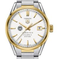 Georgia Tech Men's TAG Heuer Two-Tone Carrera with Bracelet