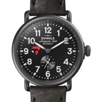 Tepper Shinola Watch, The Runwell 41mm Black Dial