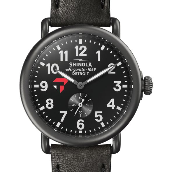 Tepper Shinola Watch, The Runwell 41mm Black Dial - Image 1