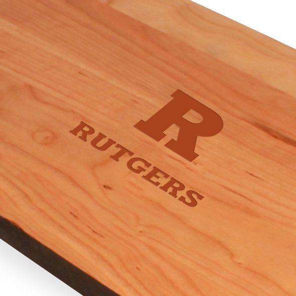 Rutgers University Cherry Entertaining Board - Image 2
