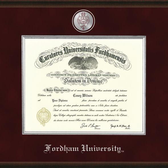 Fordham Diploma Frame - Excelsior - Image 2