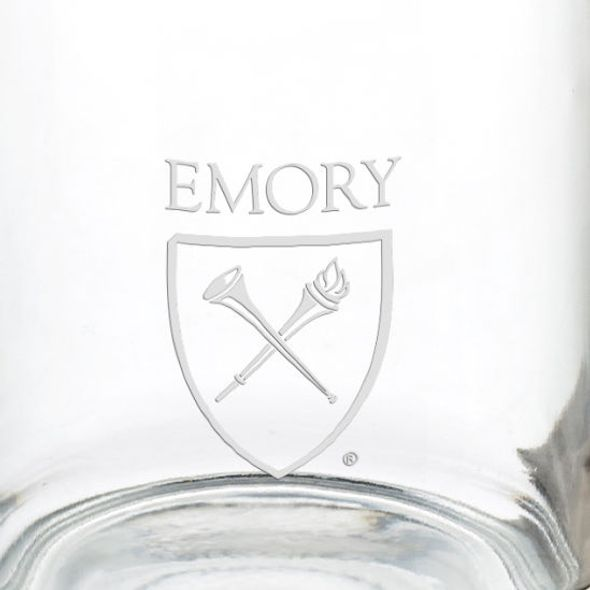 Emory University 13 oz Glass Coffee Mug - Image 3
