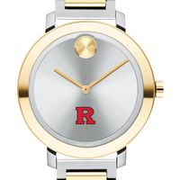 Rutgers University Women's Movado Two-Tone Bold 34