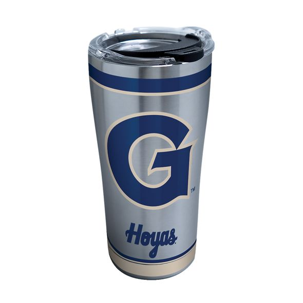 Georgetown 20 oz. Stainless Steel Tervis Tumblers with Hammer Lids - Set of 2