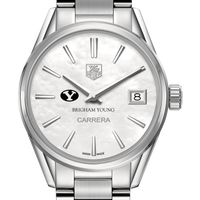 Brigham Young University Women's TAG Heuer Steel Carrera with MOP Dial