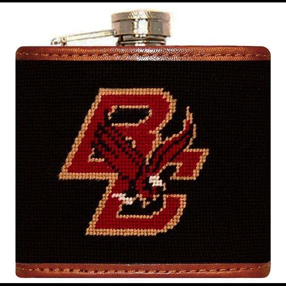Boston College Needlepoint-Encased Flask - Image 2
