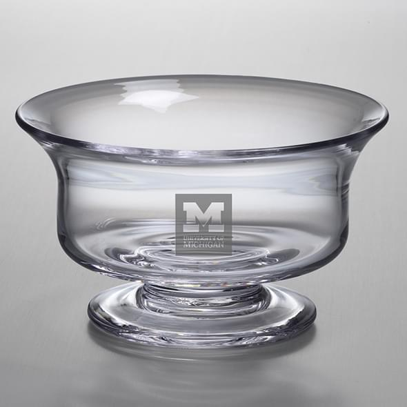 Michigan Medium Glass Revere Bowl by Simon Pearce