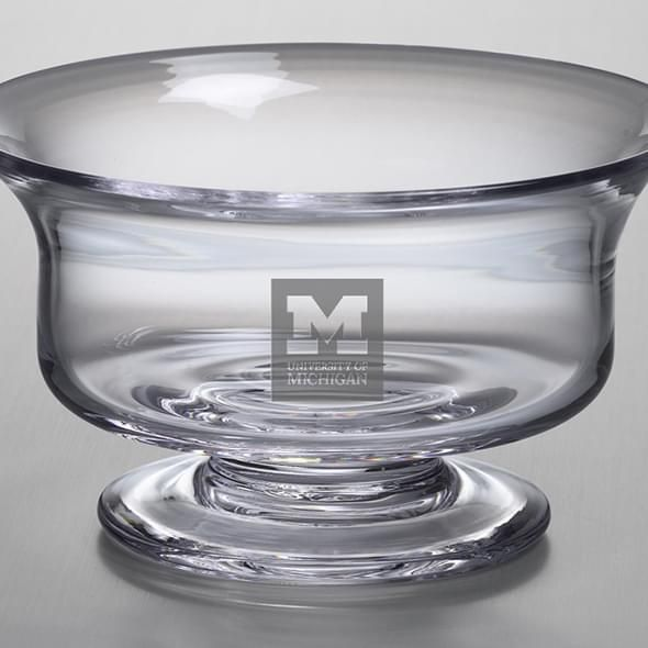 Michigan Medium Glass Revere Bowl by Simon Pearce - Image 2