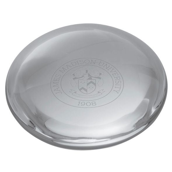 James Madison Glass Dome Paperweight by Simon Pearce - Image 2