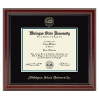 Michigan State Diploma Frame, the Fidelitas
