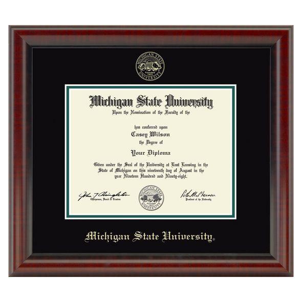 Michigan State Diploma Frame, the Fidelitas
