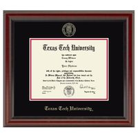 Texas Tech Diploma Frame, the Fidelitas