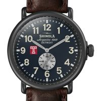 Temple Shinola Watch, The Runwell 47mm Midnight Blue Dial