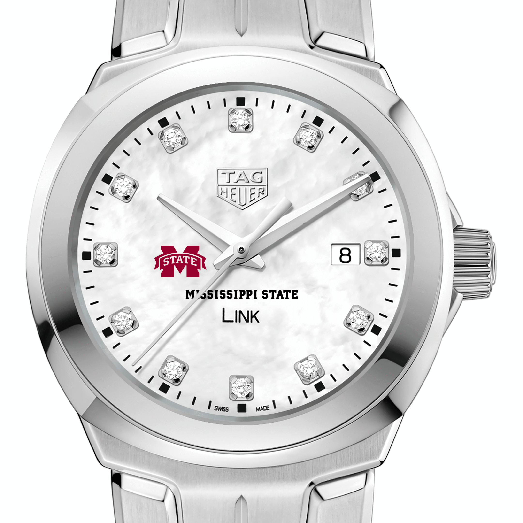 Mississippi State TAG Heuer Diamond Dial LINK for Women