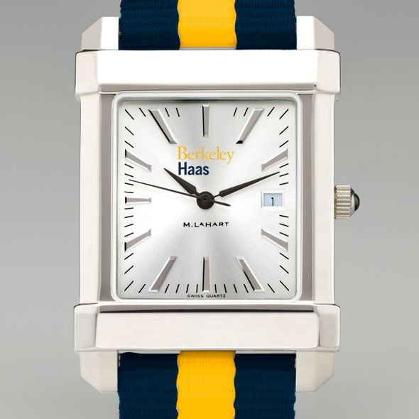 Berkeley Haas Collegiate Watch with NATO Strap for Men - Image 1